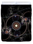 Cosmic Clockworks Duvet Cover