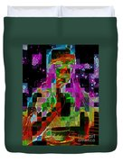 Cosmic Cup Of Coffee Duvet Cover