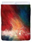 Cosmic Disturbance Duvet Cover