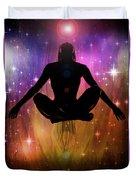 Cosmic Enlightenment... Duvet Cover