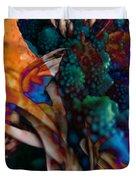 Cosmic Flower Duvet Cover