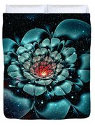 Cosmic Flower Duvet Cover
