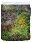 Cosmic Garden Duvet Cover