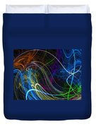 Cosmic Haywires Duvet Cover