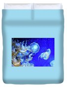 Cosmic Jellies Duvet Cover