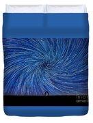 Cosmic Kiss  Duvet Cover