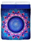 Cosmic Mandala  Duvet Cover
