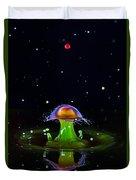 Cosmic Mushroom Duvet Cover