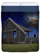 Cosmic Observation Deck Duvet Cover