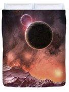 Cosmic Range Duvet Cover by Phil Perkins