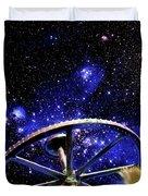 Cosmic Wheel Duvet Cover