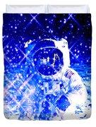 Cosmic Wonders Cropped Duvet Cover