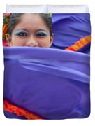 Costa Maya Dancer II Duvet Cover