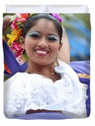 Costa Maya Dancer Duvet Cover