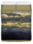 Costa Rica From The Skies Duvet Cover