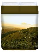 Costa Rica Rolling Hills 2 Duvet Cover
