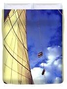 Costa Rican Sailing Duvet Cover