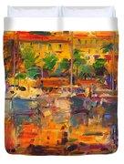 Cote D'azur Reflections Duvet Cover