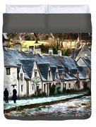 Cotswold Scene Duvet Cover