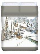 Cotswold Village Duvet Cover