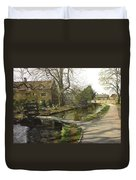 Cotswolds Scene. Duvet Cover