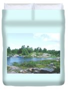 Cottage Country Duvet Cover
