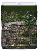Fairy Cottage Duvet Cover