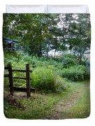 Cottage Path Duvet Cover