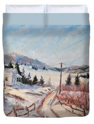 Cottage Road Duvet Cover