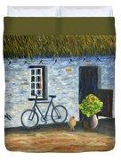 Cottage Life Duvet Cover