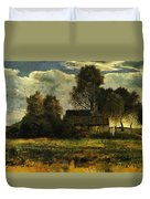 Cottages On The Dachau Marsh 1902 Duvet Cover