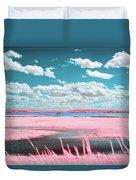 Cotton Candy Marsh Duvet Cover