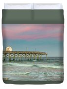 Cotton Candy Moonrise Duvet Cover