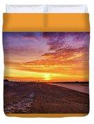 Cotton Candy Sea Salt Duvet Cover
