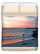 Cotton Candy Skies Duvet Cover
