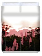 Cotton Candy Sunset 4 Duvet Cover