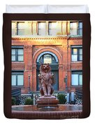 Cotton Exchange Building In Savannah  Duvet Cover