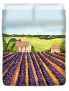 Cotton Fields Duvet Cover