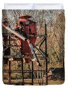 Cotton Gin In Vincent Alabama Duvet Cover