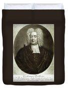 Cotton Mather 1663-1728 Duvet Cover