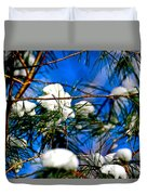 Cotton Pickin Snow Duvet Cover