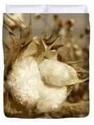 Cotton Sepia Duvet Cover