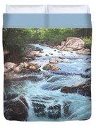 Cotton Wood Creek #4 Duvet Cover