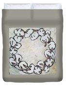 Cotton Wreath Duvet Cover