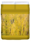 Cottonwood Autumn Colors Duvet Cover