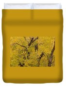 Cottonwood Fall Foliage Colors Duvet Cover