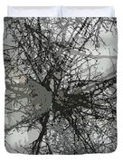 Cottonwood Tree Montage Duvet Cover