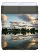 Couds At Sunrise Duvet Cover