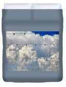 Couds With Lights Duvet Cover