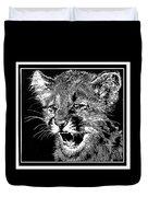 Cougar Cub Duvet Cover